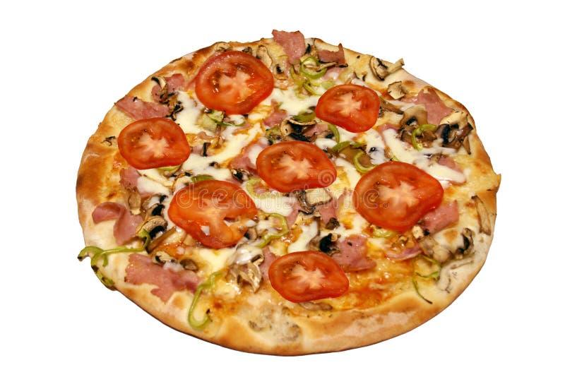 ντομάτα πιτσών στοκ φωτογραφία με δικαίωμα ελεύθερης χρήσης