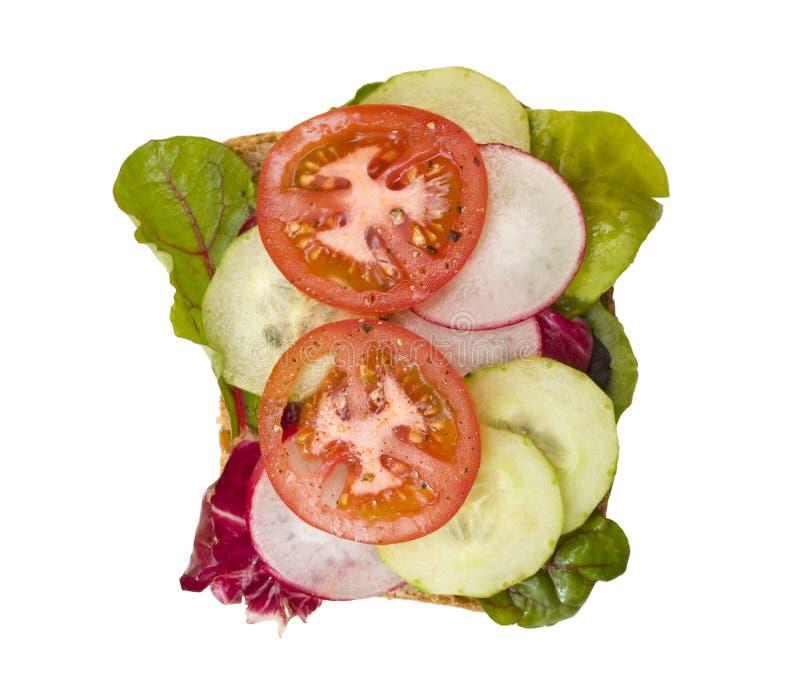 ντομάτα σάντουιτς αγγου στοκ φωτογραφία με δικαίωμα ελεύθερης χρήσης