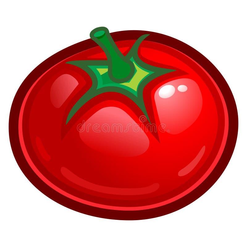 ντομάτα διανυσματική απεικόνιση