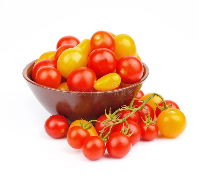 Ντομάτες γλυκών κερασιών στοκ φωτογραφία με δικαίωμα ελεύθερης χρήσης