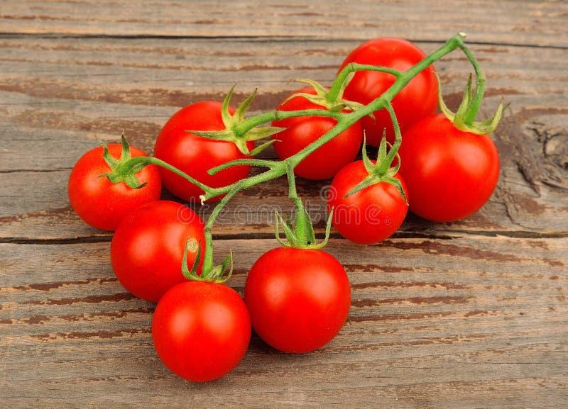 Ντομάτες γλυκών κερασιών στοκ εικόνα με δικαίωμα ελεύθερης χρήσης