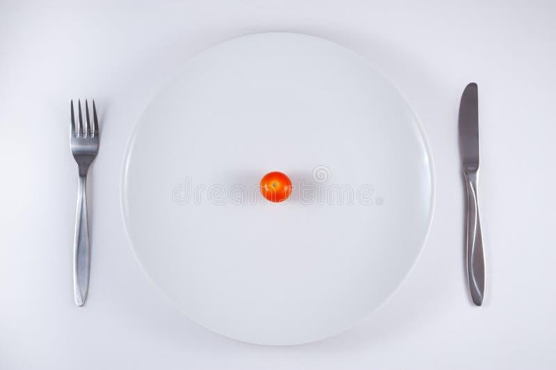 ντομάτες πιάτων κερασιών στοκ εικόνα με δικαίωμα ελεύθερης χρήσης