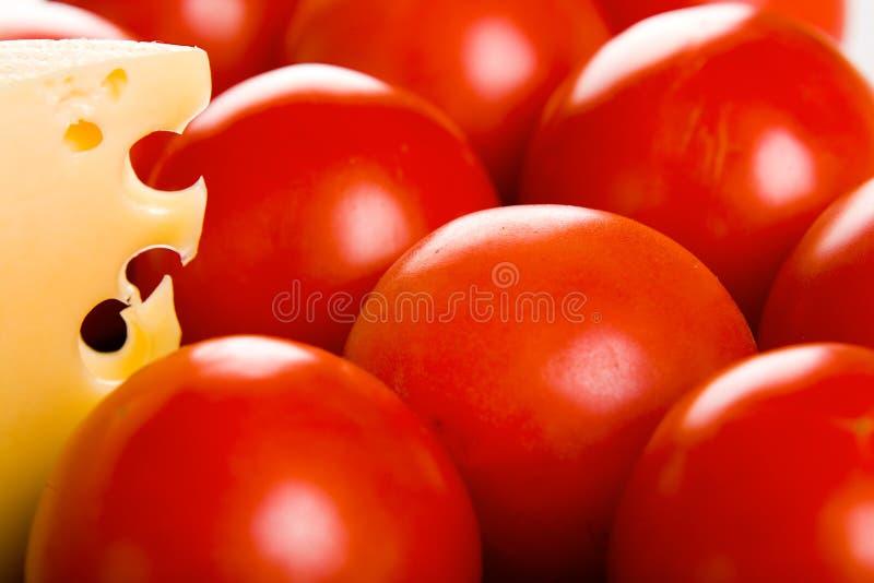 ντομάτες τυριών στοκ φωτογραφίες