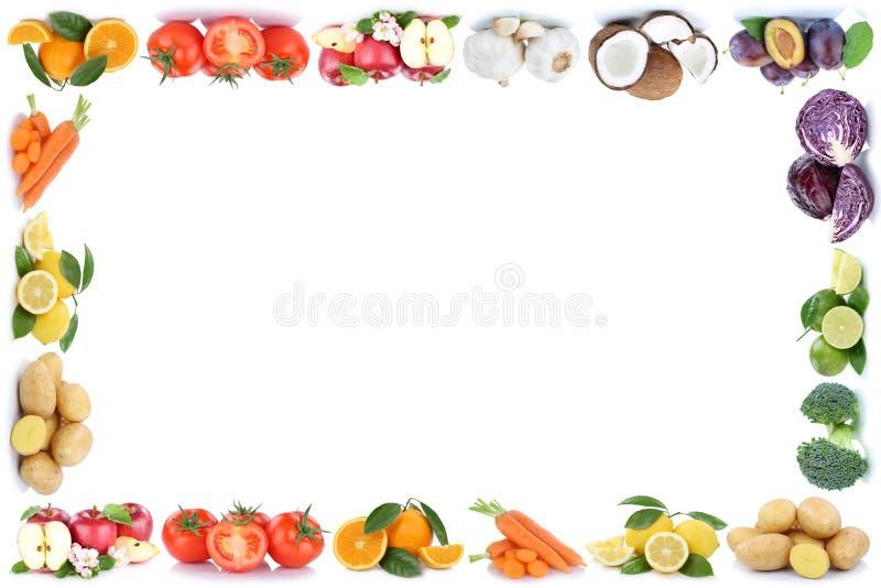 Ντομάτες φυτικά FO πορτοκαλιών μήλων πλαισίων φρούτων και λαχανικών στοκ εικόνες