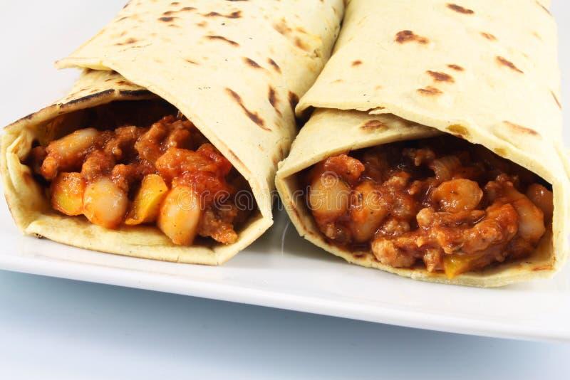 ντομάτες burrito βόειου κρέατο& στοκ φωτογραφίες με δικαίωμα ελεύθερης χρήσης