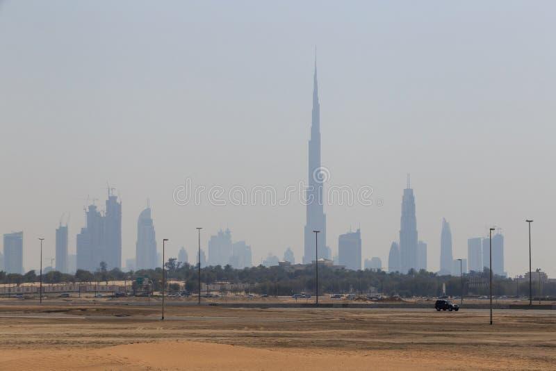 Ντουμπάι από την άλλη πλευρά στοκ εικόνες με δικαίωμα ελεύθερης χρήσης