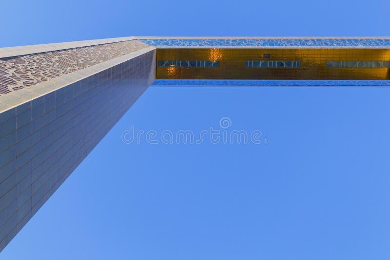 Ντουμπάι, Ε.Α.Ε. - 8 ΜΑΡΤΊΟΥ 2019: Το διάσημο πλαίσιο του Ντουμπάι γύρω βρίσκεται στο πάρκο Zabeel στοκ εικόνα με δικαίωμα ελεύθερης χρήσης