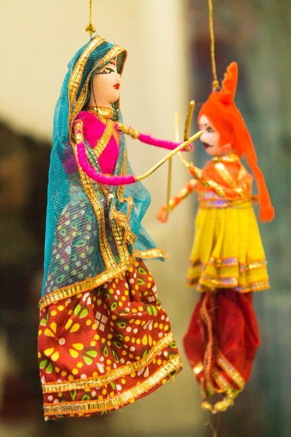 Ντυμένη Gujarati κούκλα στοκ φωτογραφία με δικαίωμα ελεύθερης χρήσης