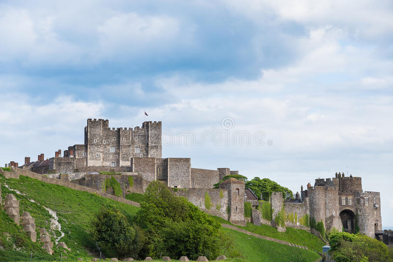 Ντόβερ Castle στοκ φωτογραφία με δικαίωμα ελεύθερης χρήσης