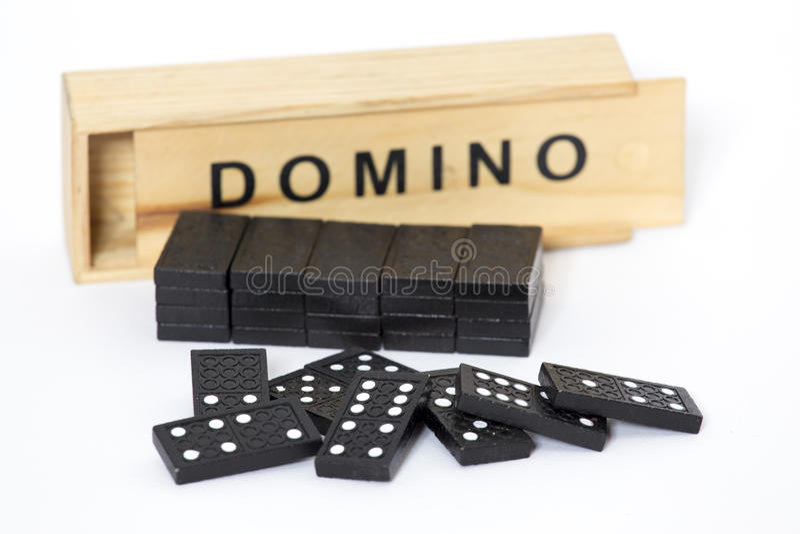 Ντόμινο στοκ εικόνα με δικαίωμα ελεύθερης χρήσης