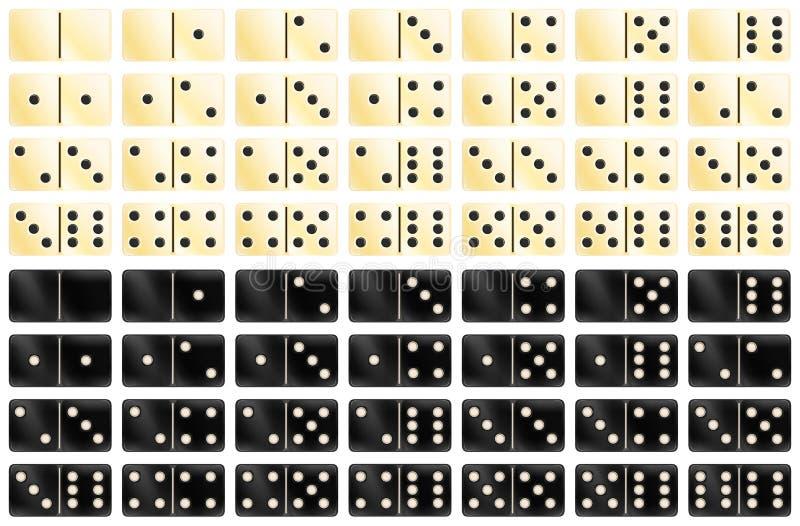 Ντόμινο απεικόνιση αποθεμάτων