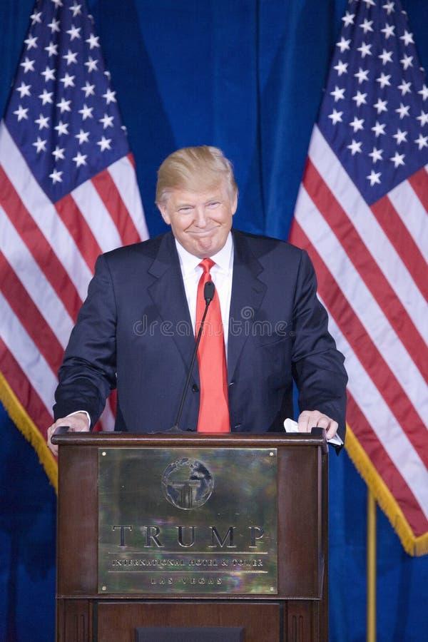 Ντόναλντ Τραμπ στοκ εικόνα