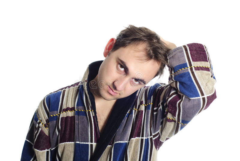 Download ντύνοντας άτομο μπουρνου στοκ εικόνες. εικόνα από χαλαρώστε - 13177286
