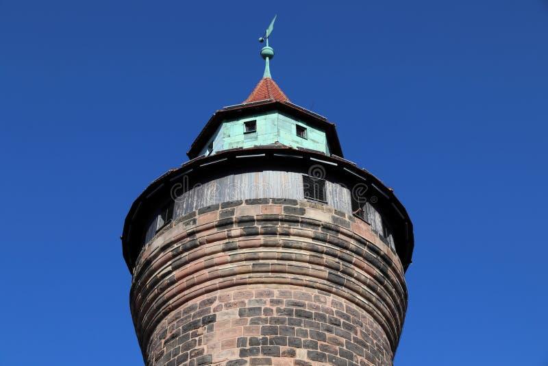 Νυρεμβέργη το αυτοκρατορικό Castle στοκ φωτογραφία με δικαίωμα ελεύθερης χρήσης