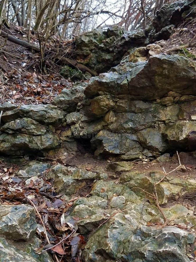 Νυσταλέος βράχος στοκ φωτογραφίες