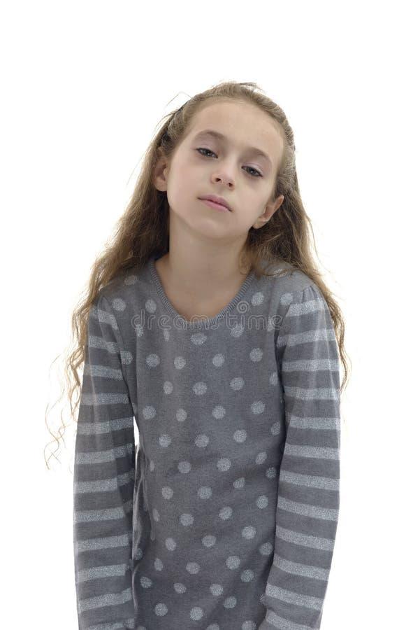 Νυσταλέο οκνηρό κορίτσι στοκ φωτογραφίες με δικαίωμα ελεύθερης χρήσης
