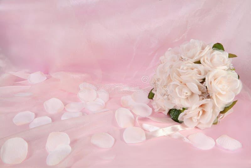 νυφικός floral γάμος ανθοδεσμών στοκ εικόνες