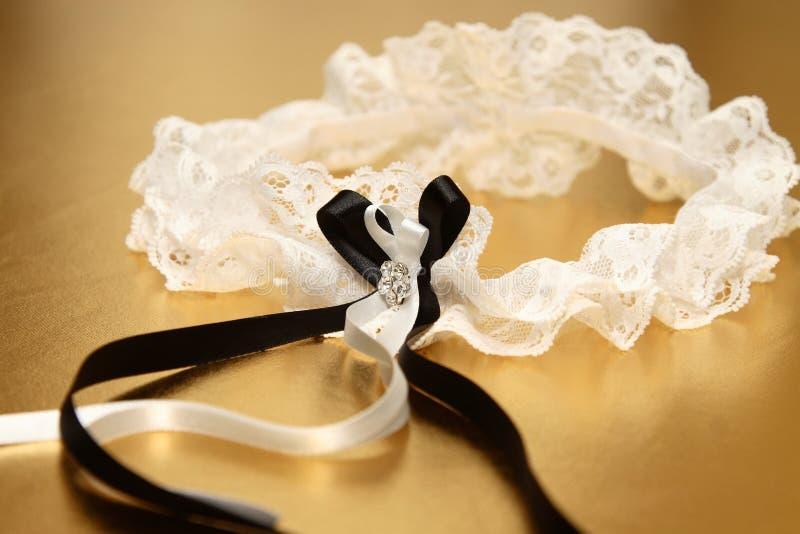 νυφικό garter στοκ φωτογραφία με δικαίωμα ελεύθερης χρήσης
