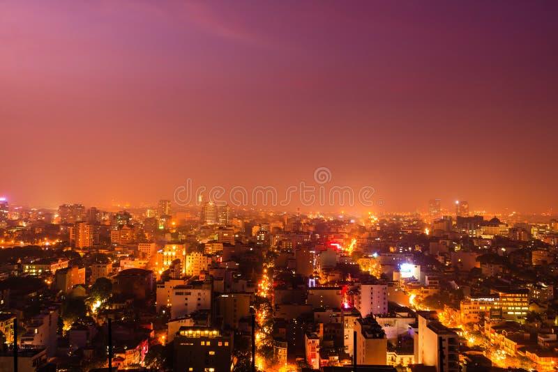 Νυχτερινή ζωή στο Ανόι στοκ εικόνες με δικαίωμα ελεύθερης χρήσης