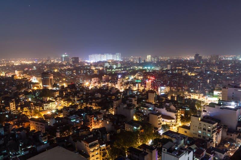 Νυχτερινή ζωή στο Ανόι στοκ φωτογραφίες με δικαίωμα ελεύθερης χρήσης