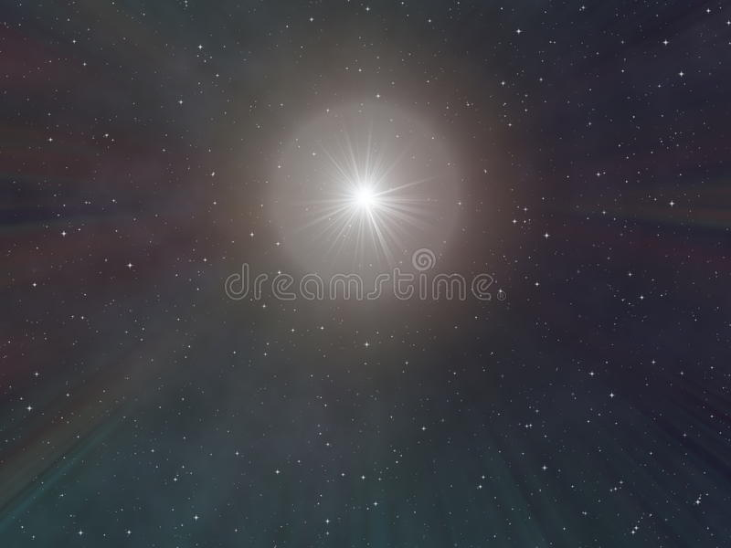 νυχτερινός ουρανός έναστρ διανυσματική απεικόνιση