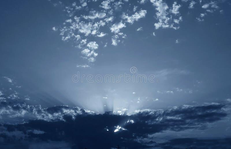 νυχτερινός ουρανός στοκ φωτογραφία