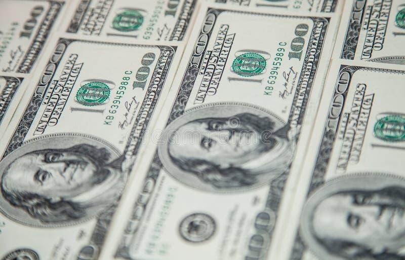 Νόμισμα εγγράφου Δολ ΗΠΑ στοκ φωτογραφία
