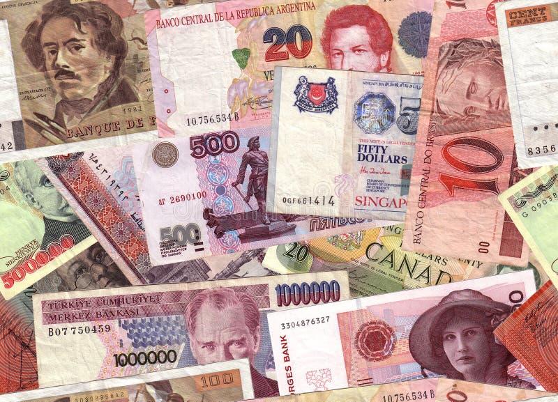 νόμισμα κολάζ στοκ φωτογραφίες με δικαίωμα ελεύθερης χρήσης