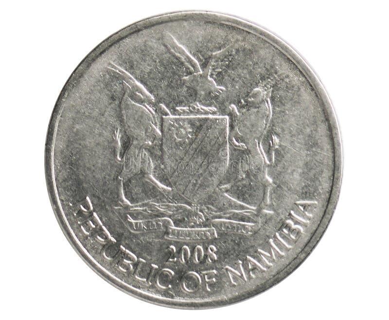 Νόμισμα 50 σεντ, 1993~Today - κυκλοφορία serie, τράπεζα της Ναμίμπια στοκ φωτογραφία με δικαίωμα ελεύθερης χρήσης