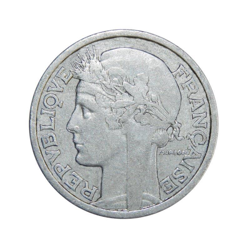 Νόμισμα της Γαλλίας 2 φράγκα στοκ εικόνες με δικαίωμα ελεύθερης χρήσης