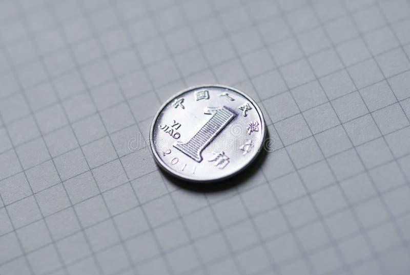 Νόμισμα της Λαϊκής Δημοκρατίας της Κίνας, βάλτος 10 στοκ εικόνα με δικαίωμα ελεύθερης χρήσης