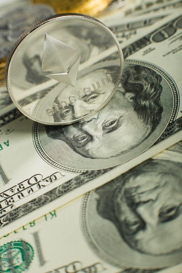 Νόμισμα Ethereum στοκ φωτογραφία