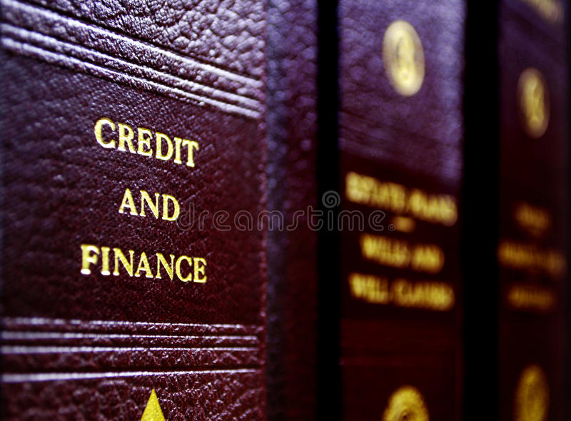 νόμος βιβλίων στοκ εικόνα