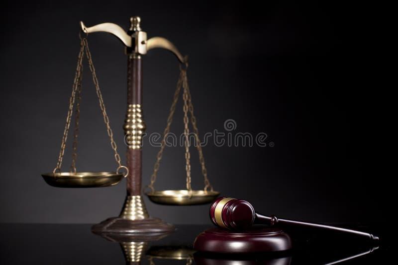 νόμος Γραφείο δικαστών ` s Gavel δικαστών ` s, νομική απόφαση στοκ εικόνες