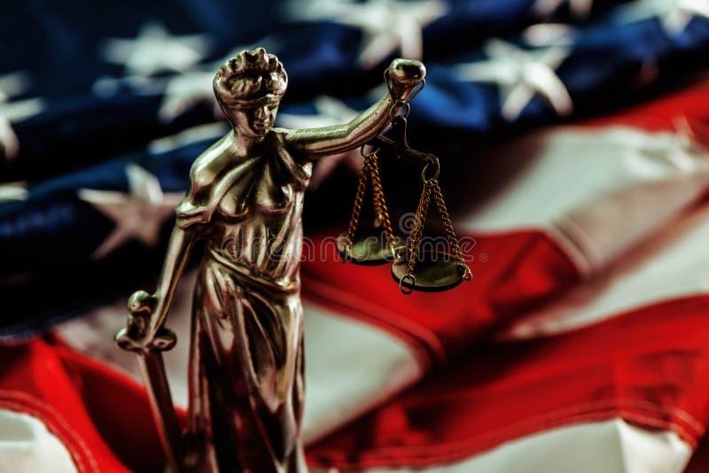 Νόμος και δικαιοσύνη στις Ηνωμένες Πολιτείες της Αμερικής στοκ φωτογραφία με δικαίωμα ελεύθερης χρήσης