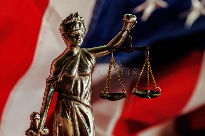 Νόμος και δικαιοσύνη στις Ηνωμένες Πολιτείες της Αμερικής στοκ φωτογραφίες με δικαίωμα ελεύθερης χρήσης