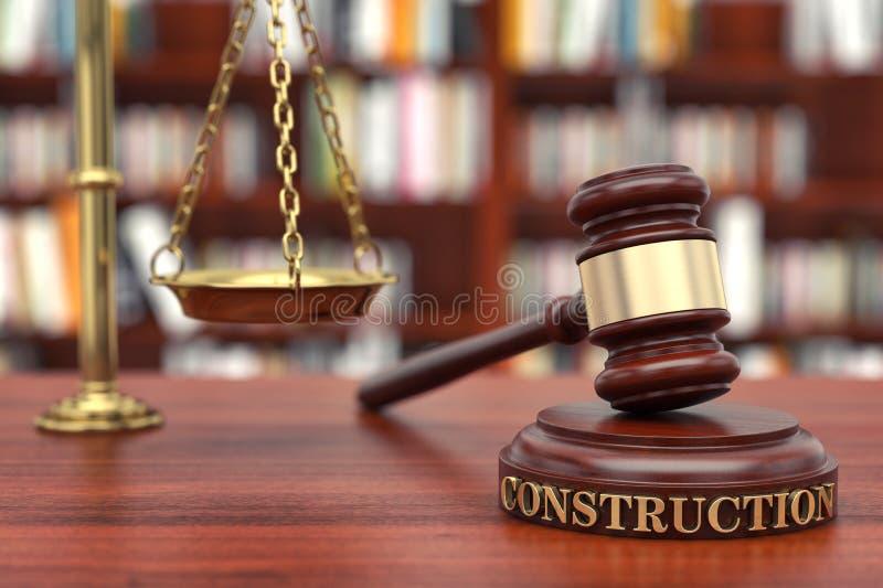 Νόμος κατασκευής στοκ εικόνες
