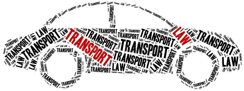 Νόμος μεταφορών Έννοια σχετική με τους διαφορετικούς τομείς του νόμου ελεύθερη απεικόνιση δικαιώματος