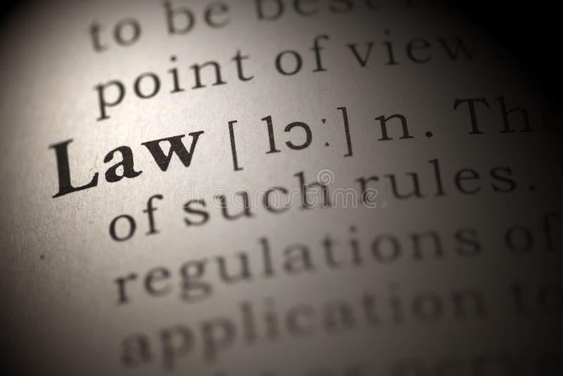Νόμος στοκ εικόνα με δικαίωμα ελεύθερης χρήσης