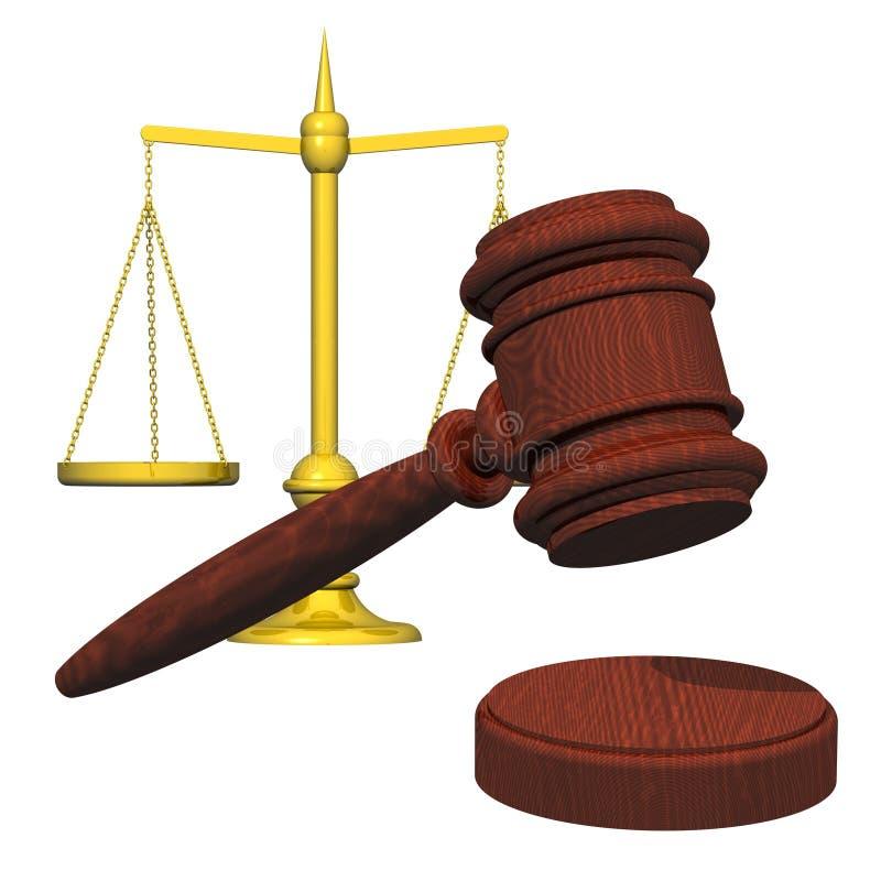 νόμος διανυσματική απεικόνιση