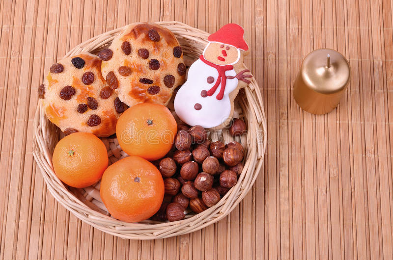 Νόστιμα μπισκότα με τις σταφίδες στοκ φωτογραφία με δικαίωμα ελεύθερης χρήσης