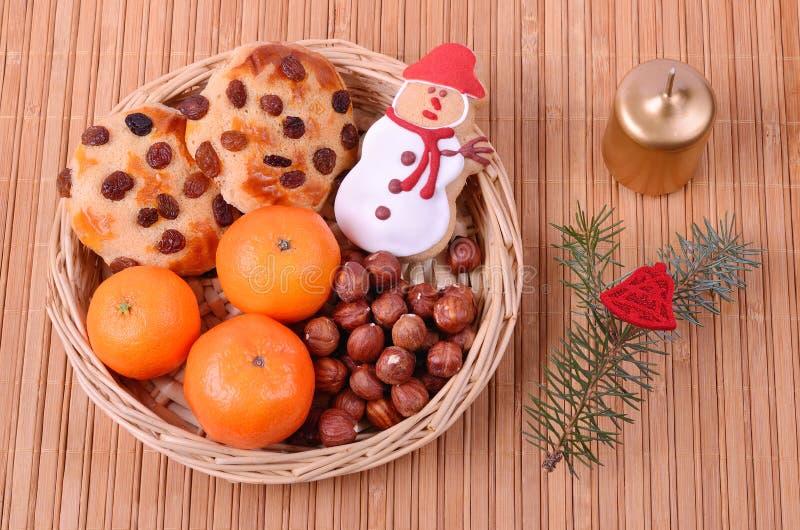 Νόστιμα μπισκότα με τις σταφίδες στοκ φωτογραφία