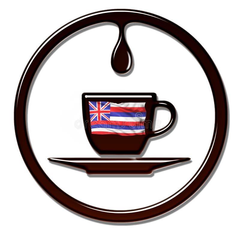 Νόστιμος της Χαβάης καφές ελεύθερη απεικόνιση δικαιώματος