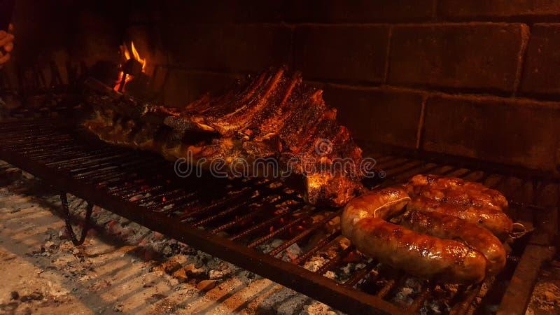 Νόστιμο αργεντινό κρέας στοκ εικόνες με δικαίωμα ελεύθερης χρήσης