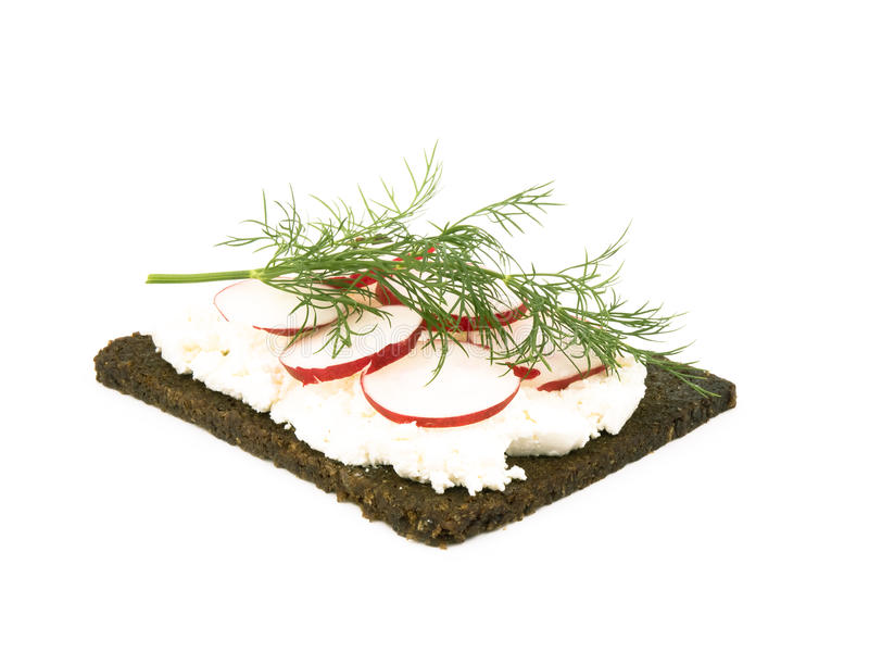 νόστιμο λευκό σάντουιτς &a στοκ εικόνες με δικαίωμα ελεύθερης χρήσης