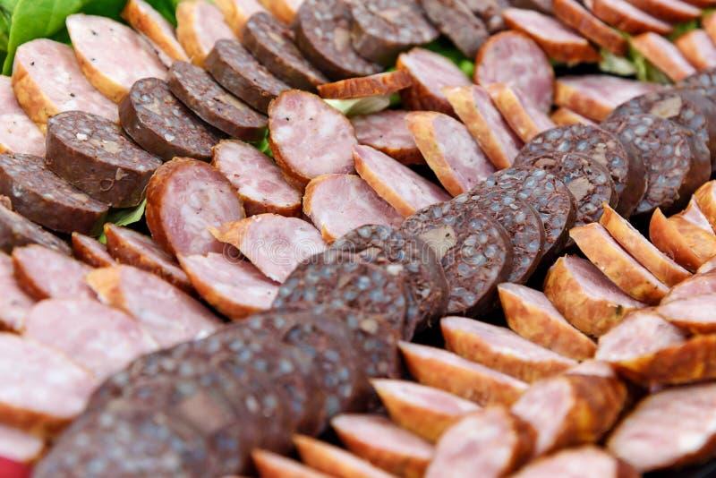 Νόστιμο τεμαχισμένο κρέας στοκ εικόνες
