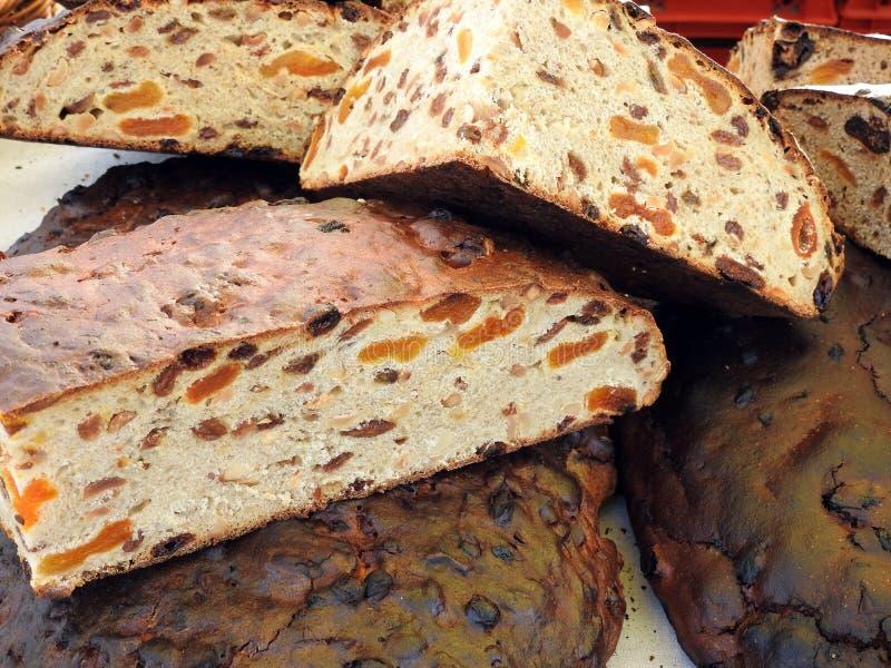 Νόστιμο ψωμί με τα φρούτα, Λιθουανία στοκ εικόνα με δικαίωμα ελεύθερης χρήσης