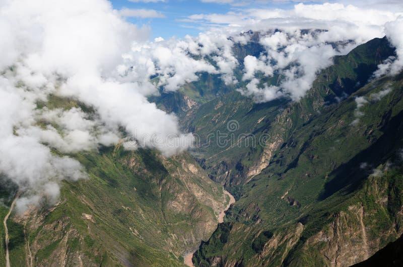 Νότια Αμερική - Περού, καταστροφές Inca Choquequirao στοκ φωτογραφία με δικαίωμα ελεύθερης χρήσης