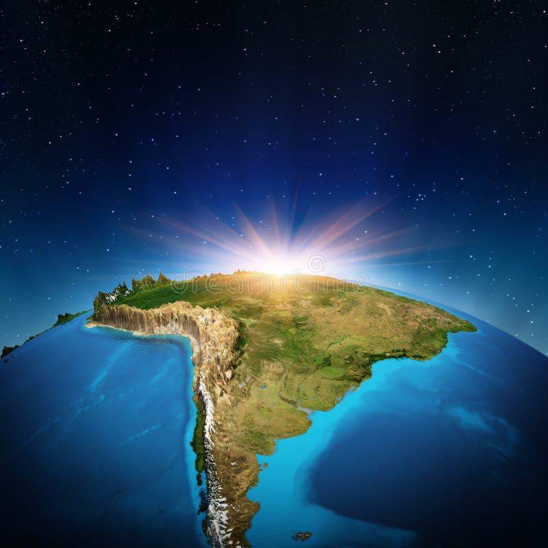 Νότια Αμερική ελεύθερη απεικόνιση δικαιώματος