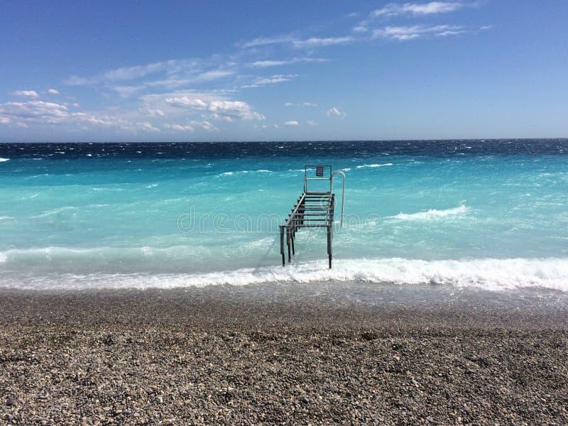 Νότια Γαλλία της Νίκαιας στοκ φωτογραφία με δικαίωμα ελεύθερης χρήσης